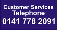 Telephone contact No 0141 7782091