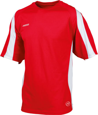 Prostar kinetic t-shirt click on image to enlarge red
