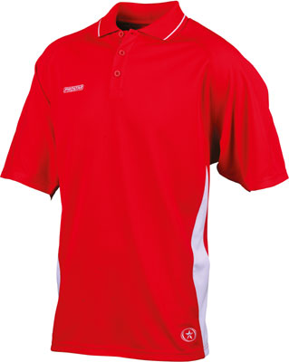 Prostar kinetics polo shirt click on image to enlarge scarlet
