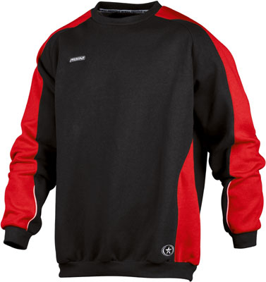 Prostar kinetics sweat top click on image to enlarge red/black