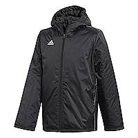 Adidas core 18 stadium jacket black