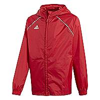 Adidas-Core-18-rain jacket red