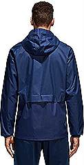 Adidas Condivo rain jacket navy rear