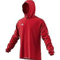 Adidas Condivo rain jacket Power Red