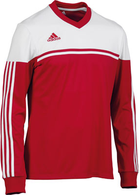 adidas autheno 12 football kit red-white