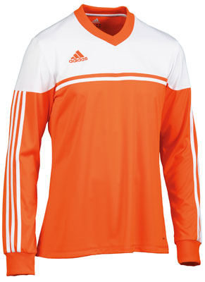 adidas autheno 12 football kit orange-white