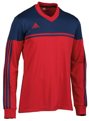 adidas autheno 12 football kit red-navy