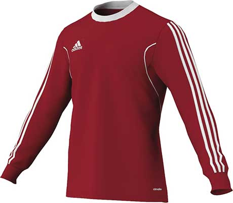 adidas squadra football jersey red