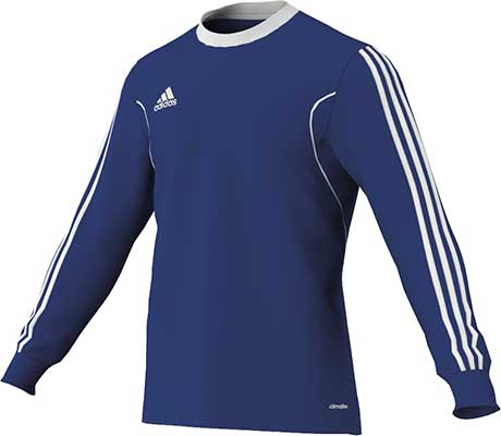 adidas squadra football jersey royal