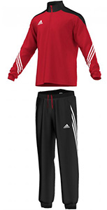 Adidas Sereno 14 tracksuit Power Red/White