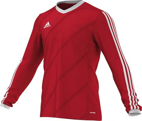 Adidas tabela 14 football kit red