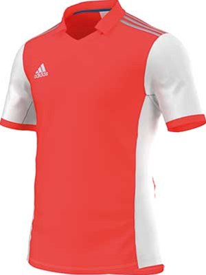 Adidas Volzo football jersey red-white