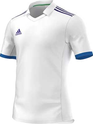 Adidas Volzo football jersey white-royal