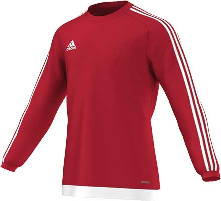 Adidas Estro 15 football jersey Red