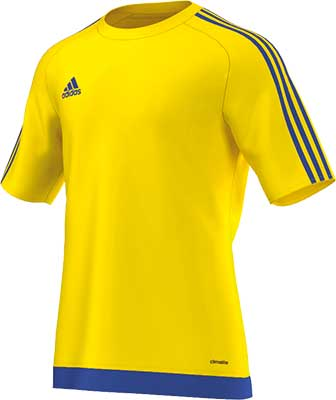 Adidas Estro 15 football jersey yellow-royal