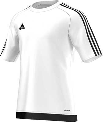 Adidas Estro 15 football jersey white-black