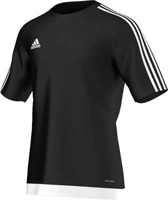 Adidas Estro 15 football jersey black-white