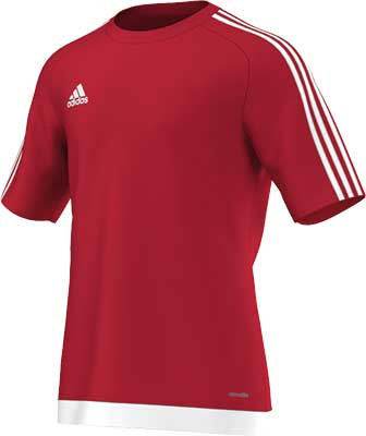 Adidas Estro 15 football jersey red-white