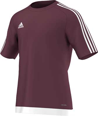Adidas Estro 15 football jersey burgundy
