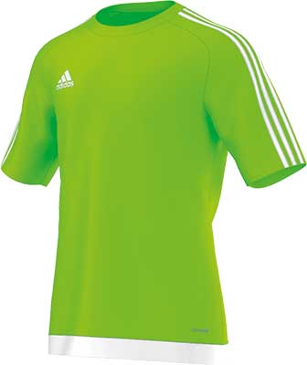 Adidas Estro 15 football jersey lime