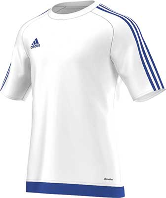 Adidas Estro 15 football jersey white-royal