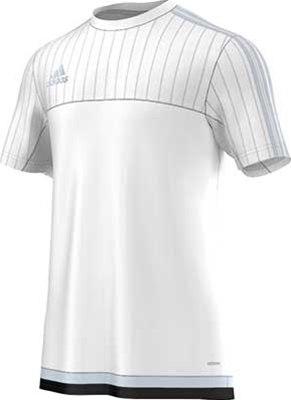 8d71e99005c8 Adidas Tiro training jersey white. White Light Grey