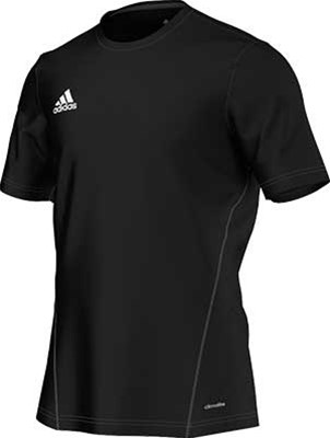 61620ba8b Adidas Core 15 Training jersey black. Black/White