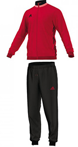1a3ebbc9b31e Adidas Condivo 16 polyester tracksuit red. SCARLET BLACK