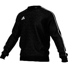 Adidas core 18 sweat top black