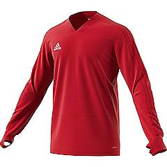 Adidas condivo 18 Training Sweat Top Red