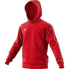 Adidas Core Hooded top Red