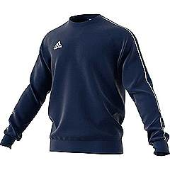 Adidas core 18 sweat top Dark blue