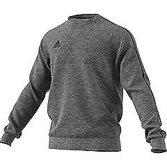 Adidas core 18 sweat top Grey