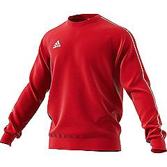 Adidas core 18 sweat top Red