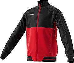 Adidas Tiro 17 PES jacket Black/Red