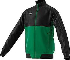 Adidas Tiro 17 PES jacket Black/Green