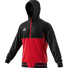 Adidas Tiro 17 Presentation jacket Black/Red