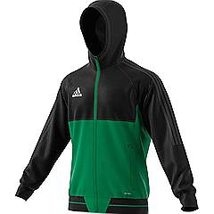 Adidas Tiro 17 Presentation jacket Black/Green
