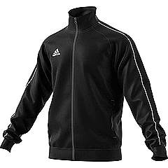 Adidas core 18 PES jacket black/White
