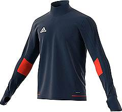 Adidas Tiro 17 Training Top Navy-Energy