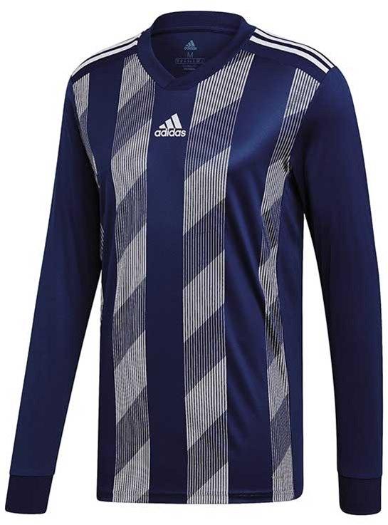 ea0c9084e Adidas Striped 19 Football jersey navy-white