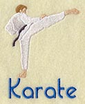 karate badge