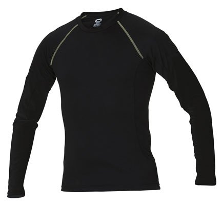 Stanno Long sleeve baselayer click on image to enlarge black