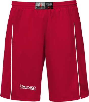 spalding basketball shorts score red