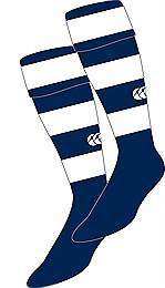 Hooped socks Navy-white