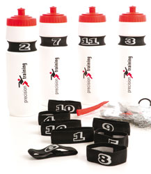 Elasticated bottle numbers