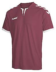 Hummel Core Poly jersey Maroon