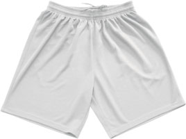 Macron Team shorts click on image to enlarge white