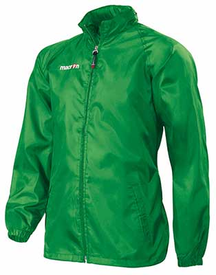 Macron Atlantic rain jacket green