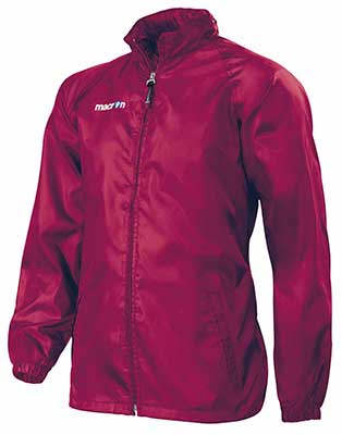 Macron Atlantic rain jacket maroon